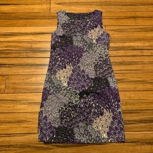 connected apparel Dresses - CONNECTED PURPLE DRESS